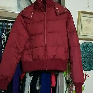 DELIA'S PUFFER JACKET- DETACHABLE HOOD